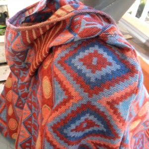Poncho en laine de Yack PON02
