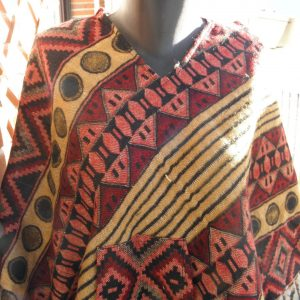 Poncho en laine de Yack PON03