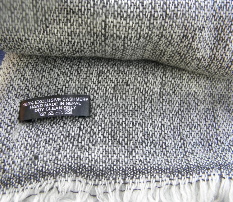906f2b4f9493 Echarpe en laine de cachemire C5BA09 – Namaste-Boutique