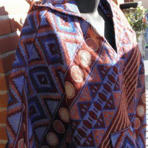 Poncho en laine de Yack PON07