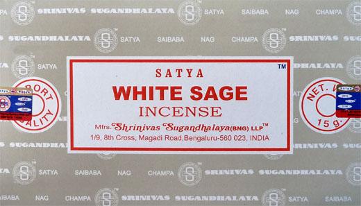 Encens sauge blanche 15g(white Sage)