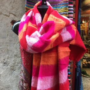 Châle en laine de yak B17
