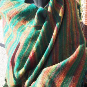 Châle en laine de yak C5
