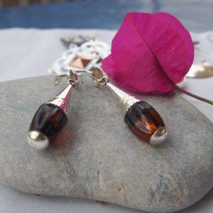Boucles d'oreilles touaregs en argent T26