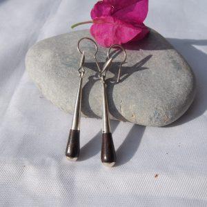 Boucles d'oreilles touaregs en argent T32