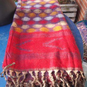 Châle en laine de yak B9