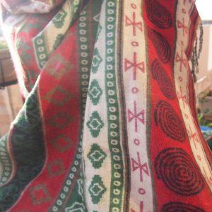Châle en laine de yak B3