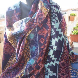 Châle en laine de yak B4