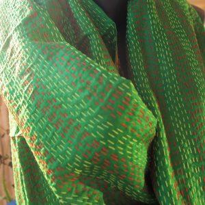 Étole en soie indienne 7