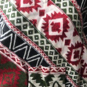 Poncho en laine de yak 2
