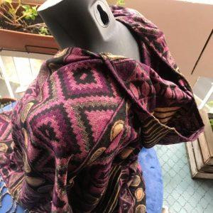 Poncho en laine de yak 3