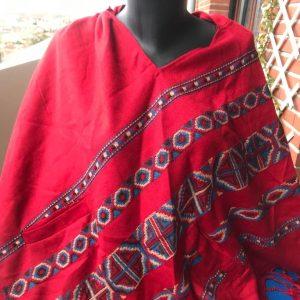 Poncho en laine de yak 6