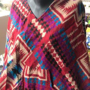 Poncho en laine de yak 4
