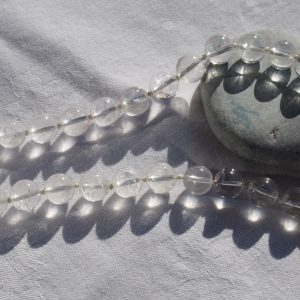Collier en cristal de roche