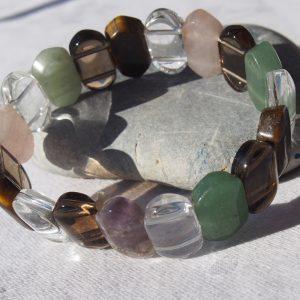 Bracelet multiples pierres